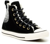Converse Chelsee High Top Faux Shearling Lined Sneaker (Women)