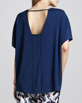 Cut25 Oversized Pieced Top