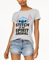 Disney Juniors' Stitch Spirit Animal Graphic T-Shirt