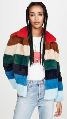 Blank Rainbow Pop Coat
