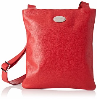 Mac Douglas Women's VAPES BUNI Shoulder Bag Red Red (Rouge fraise 24FR)
