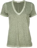 Rag & Bone V-neck T-shirt - women - Cotton - M