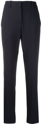 Emporio Armani High-Waisted Slim Fit Trousers