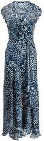 Polo Ralph Lauren Silk Gauze Wrap Dress