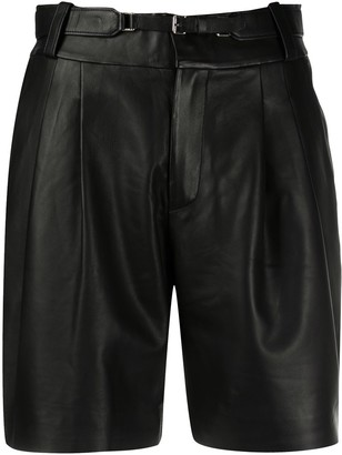 RED Valentino Pleated Detail Shorts