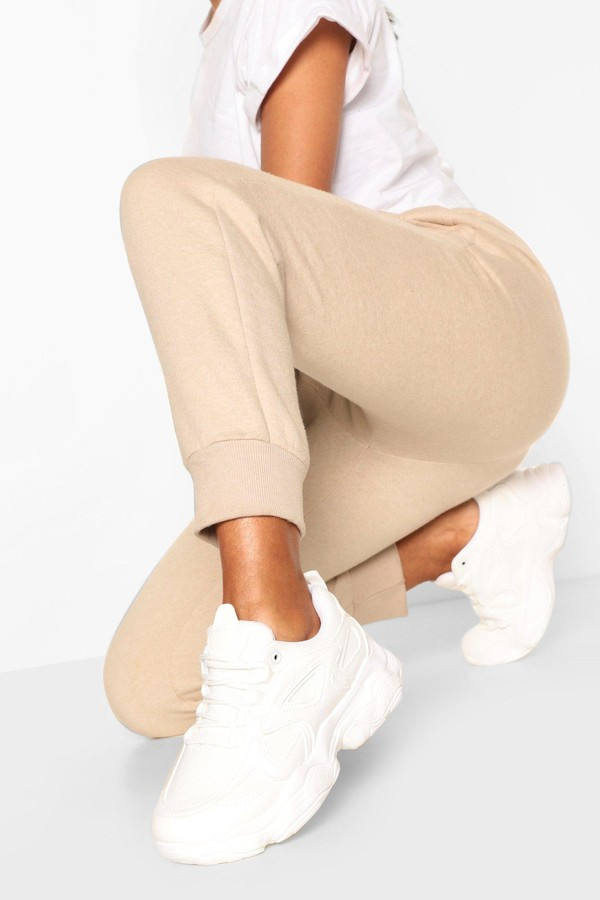 Thumbnail for your product : boohoo Chunky Sole Panelled Trainers