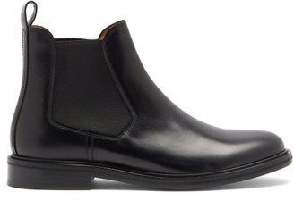 A.P.C. Johanne Leather Chelsea Boots - Black