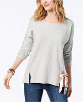 Style&Co. Style & Co Petite Tie-Hem Top, Created for Macy's