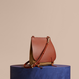 Burberry The Small Bridle in Leather and Suede