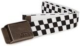 Vans Black and White Deppster Web Belt