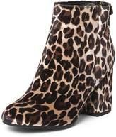 Dorothy Perkins Leopard Print 'Mariah' Velvet Boots