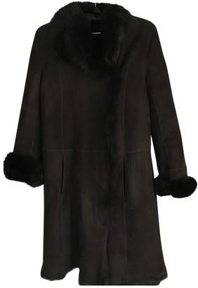 Joseph Brown Suede Coats