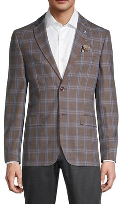 Ben Sherman Standard-Fit Overcheck Sportcoat