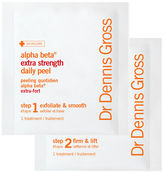 SpaceNK DR DENNIS GROSS Alpha Beta Peel Extra Strength Formula - 30 Application Packettes