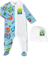 Moschino Kids - hippy print romper set - kids - Cotton - 3-6 mth