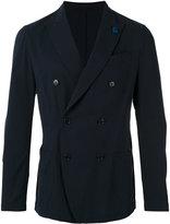 Lardini - double-breasted blazer - men - Cotton - 50