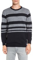 French Connection 'Gio Fair Isle' Stripe Wool Blend Sweater