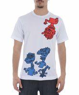 Comme des Garcons Multi-print T-shirt