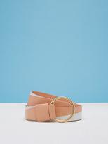 Diane von Furstenberg Origami O Ring Belt