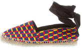 Pierre Hardy Printed Espadrille Flats