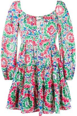 Rixo Roxy floral print dress