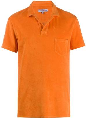 Orlebar Brown short-sleeve fitted polo shirt