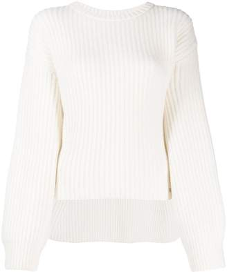 Genny oversized ribbed knit sweater
