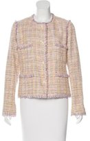 Chanel Fitted Tweed Jacket