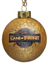 Kurt Adler Game of Thrones Glass Ball Ornament, 80mm by