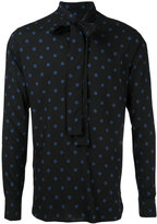 Saint Laurent dot print shirt