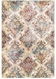 StyleHaven Emberly Antiqued All-over Medallions Area Rug