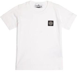 Stone Island Junior Compass Logo T-Shirt (4-14 Years)