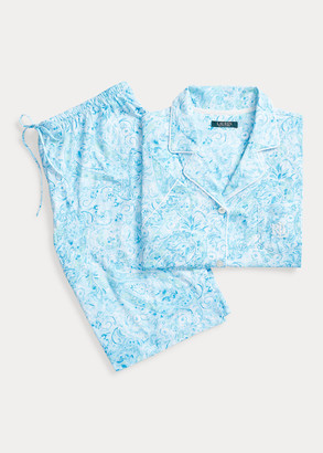 Ralph Lauren Print Cotton Bermuda PJ Set