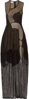Stella McCartney Reynold paneled embroidered cotton-blend gauze and tulle gown