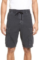 Vince Men's Drop Crotch Linen Blend Cargo Shorts