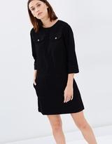 Warehouse Denim Pocket Shirt Dress