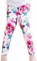 Aivtalk Children Girls Adorable Winter Skinny Legging Pants Butterfly Pink for 3 Years