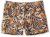 """L.L. Bean L.L.Bean Signature Washed Twill Shorts, 4"""" Print"""