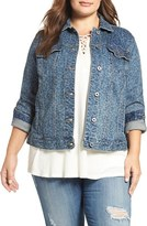 Lucky Brand Plus Size Women's Denim Jacket