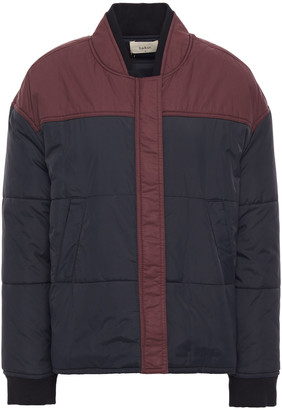 BA&SH Two-tone Quilted Shell Jacket
