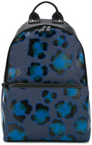 Kenzo leopard print backpack - men - Cotton/Leather/Nylon/Polyurethane - One Size