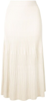 Altuzarra Ireene ribbed-knit skirt