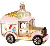Nordstrom Ice Cream Truck Glass Ornament
