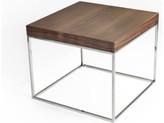 Pangea Home Floyd Side Table, Walnut