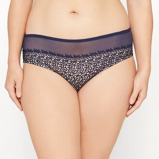 Castaluna Plus Size Guipure Lace Full Briefs