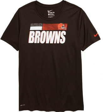 Nike Kids' Dri-FIT Kids' Legend Sideline NFL Cleveland Browns Graphic Tee