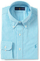 Polo Ralph Lauren Fitted Classic-Fit Striped Dress Shirt