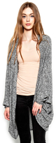 Michael Lauren Easton Cardigan in Heather Grey