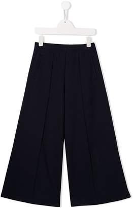 Marni flared cotton trousers
