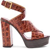 Chloé Strappy Platform Sandals